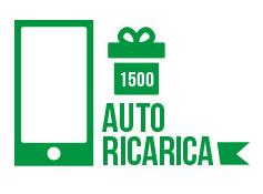 Autoricarica di 91 euro pari a  1500 crediti sms